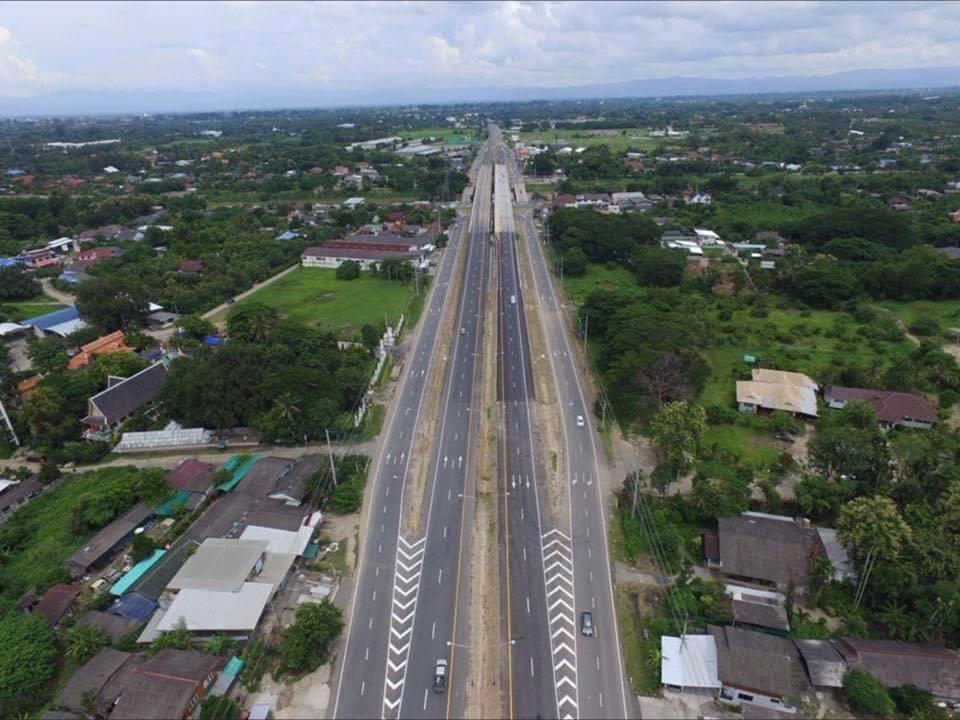 Nieuwe rustplaatsen op de snelweg tussen Bangkok en Pattaya gepland