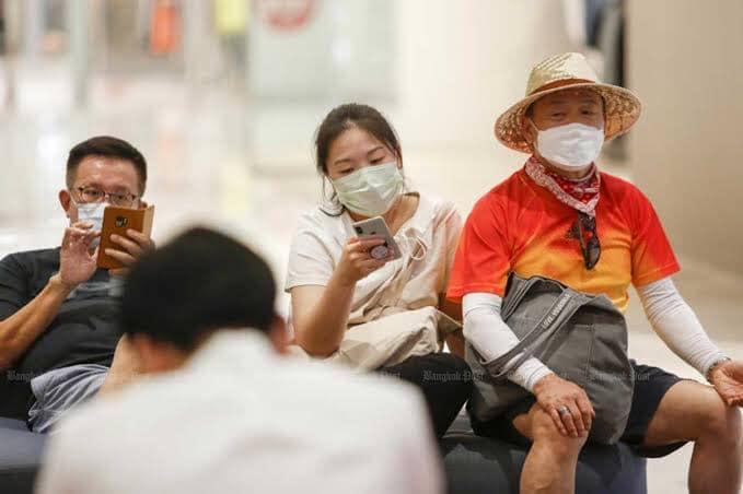 De eerste Chinezen zullen naar verwachting komende dinsdag op luchthaven Suvarnabhumi landen