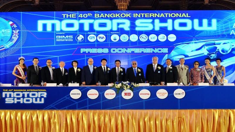 De 42ste Internationale Autosalon van Thailand wordt van 22 maart tot 4 april in Nonthaburi gehouden