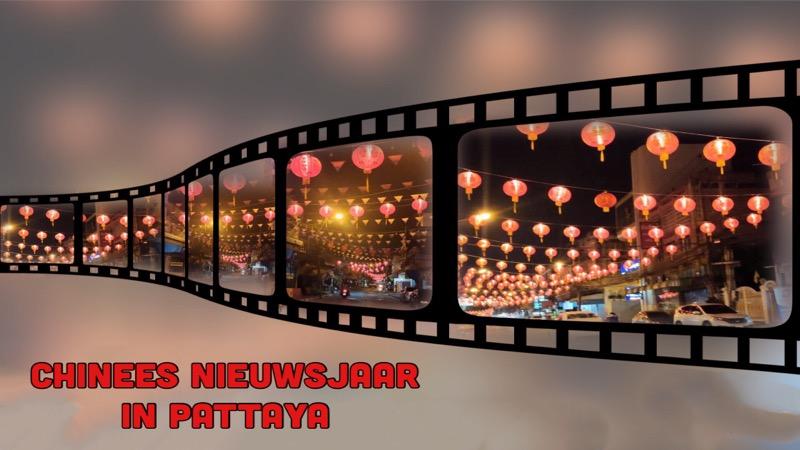 VIDEO: Verschillende wijken van Pattaya zijn rood verlicht en klaar voor Chinees Nieuwjaar
