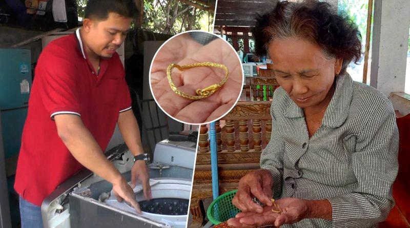 Monteur vindt gouden armband en geeft deze terug aan eigenaresse