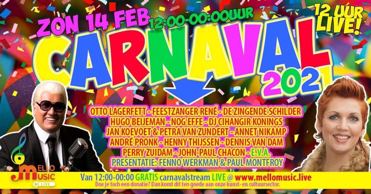 Paul & Fenno van Olleke Bolleke Radio vieren dit weekend ongekende op wijze carnaval 2021