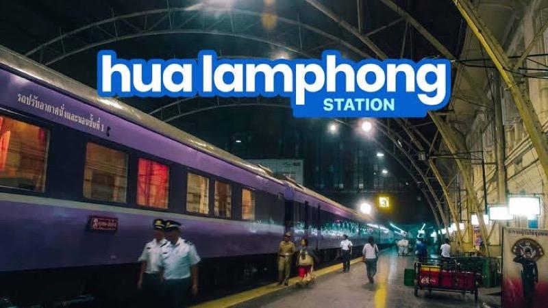 Thaise spoorwegvakbond wil het 105 jaar oude karakteristieke treinstation Hua Lamphong behouden