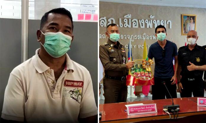 Update: Pattaya taxichauffeur mishandelde toerist omdat hij zich aan hem ergerde