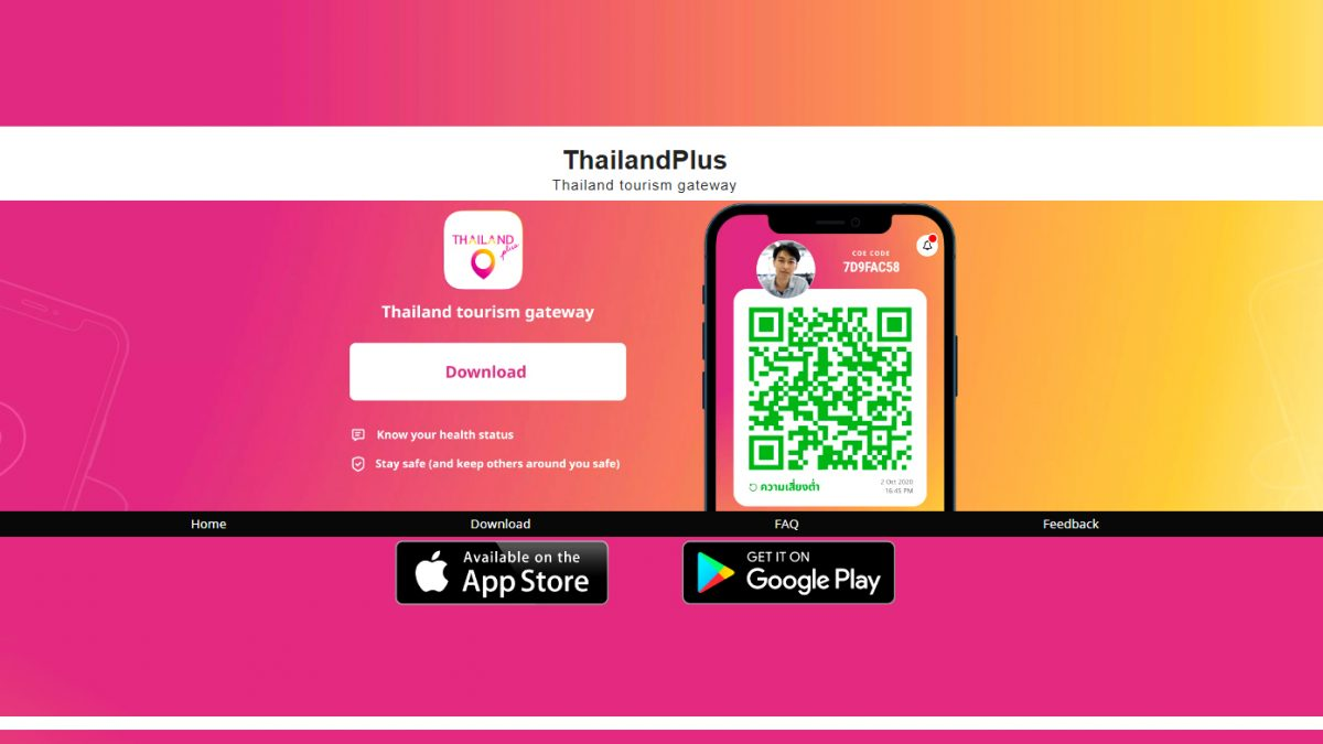 Persbericht: Buitenlandse toeristen verplicht tot installatie 'ThailandPlus' app