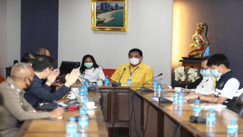 De 5G-technologie zou in de kustplaats Pattaya het intelligente netwerk moeten gaan bevorderen