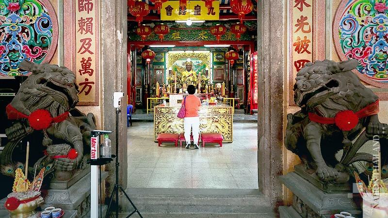 De Chinese gezinnen in Thailand maken zich klaar om het nieuwe jaar in te luiden