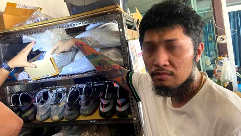 Arrestatie bij inval illegale vaperstore Sattahip