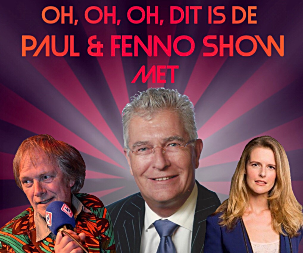 "#5 Wat gaat de tijd toch snel, dat is waar Paul en Fenno hun ""oh, oh, oh, dit is de Paul & Fenno Show"" iedere week tegen opboksen."