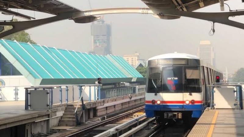 Tariefverhoging op de groene BTS lijn Bangkok uitgesteld