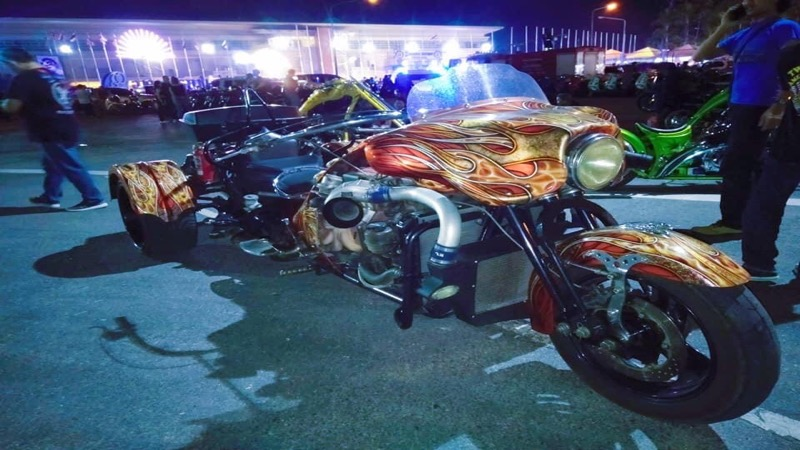 Door de impact van het Covid19 virus is de Burapa Bike Week 2021 in Pattaya geannuleerd