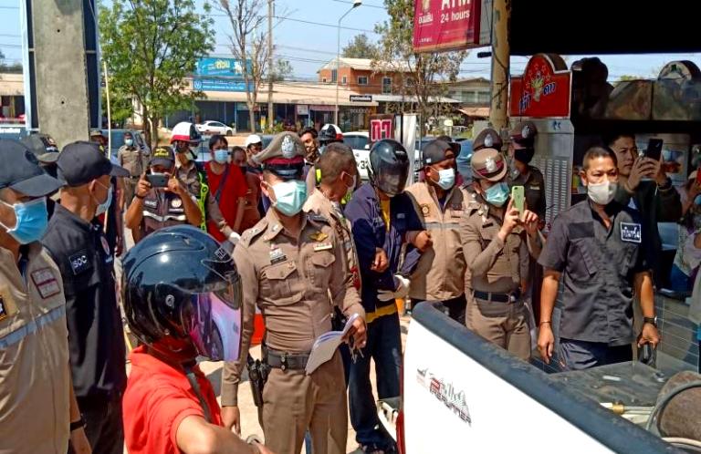 Arrestaties na kraak pinautomaat in Kabinburi: buit 700.000 baht