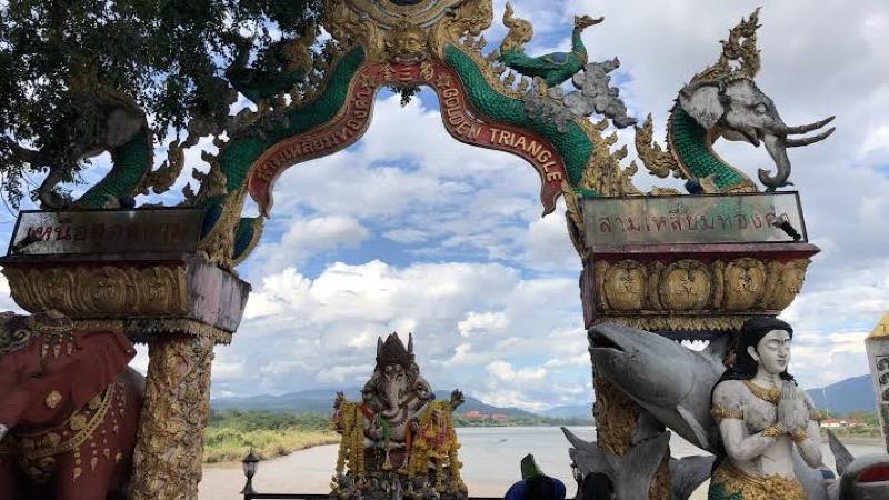 """In de noordelijk gelegen """"gouden driehoek"""" van Thailand worden op grote schaal goedkopere drugs gefabriceerd"""