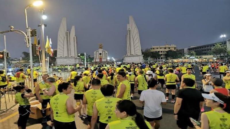 De marathon van Bangkok is verschoven naar 27 juni