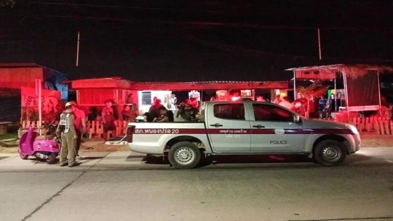 28 gasten wegens aanwezigheid In een bierbar gearresteerd na de wettelijke sluitingstijd van 23.00 uur.