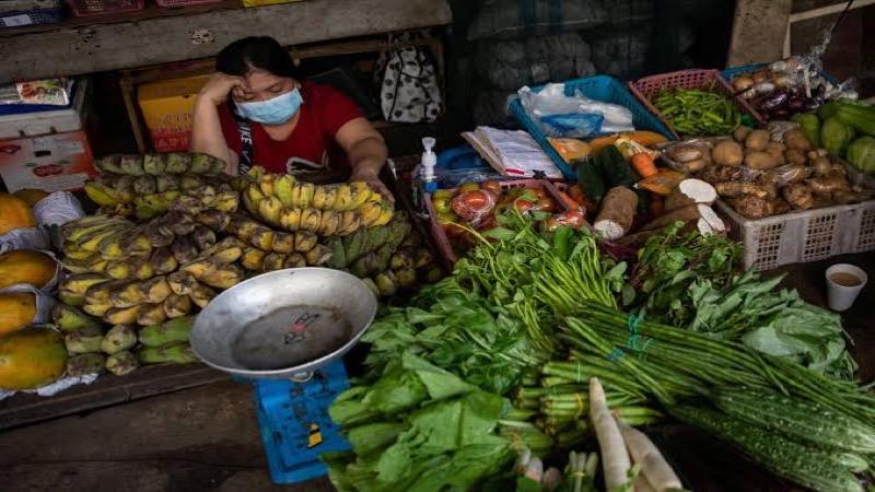 De Thaise inflatie blijft in het rood staan
