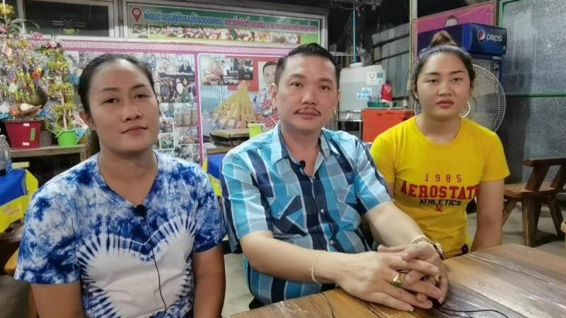 Thaise man met 2 vrouwen en 4 kinderen vertelt trots dat hij niets tekort komt