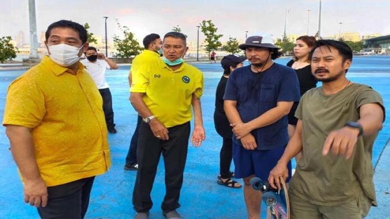 Pattaya komt belofte na en begint met de realisatie van een sportgebied onder het Bali Hai  viaduct