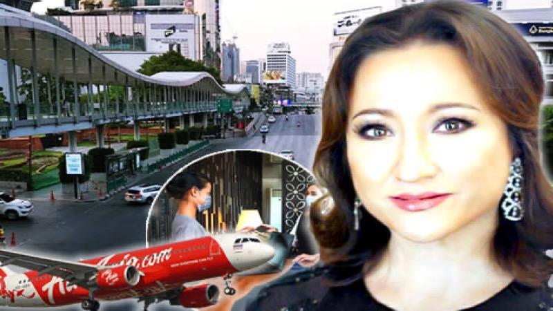 De leiders van de Thaise industrie waarschuwen dat de economie op instorten staat