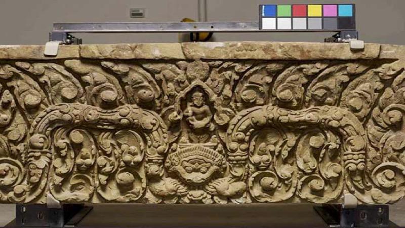 Oude artefacten die in de jaren zestig naar de VS werden gesmokkeld, gaan terug naar Thailand