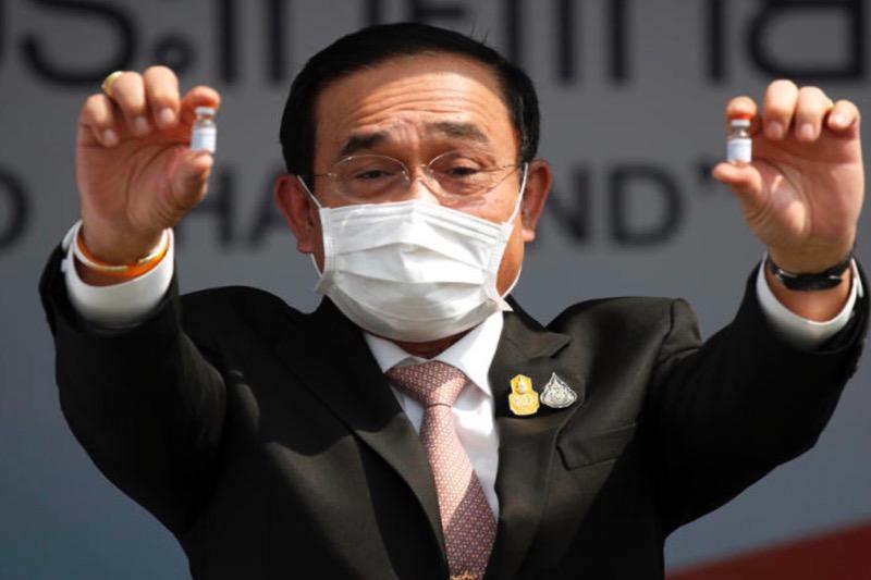 Thailand begint komende maandag met het vaccineren van de bevolking