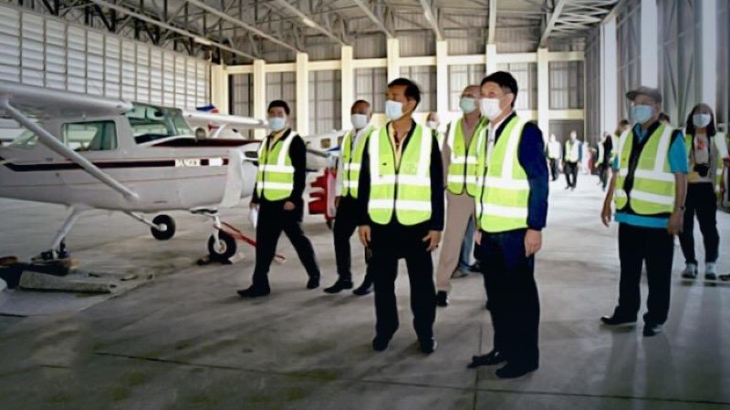 De landingsbaan van vliegveld Hua Hin wordt uitgebreid