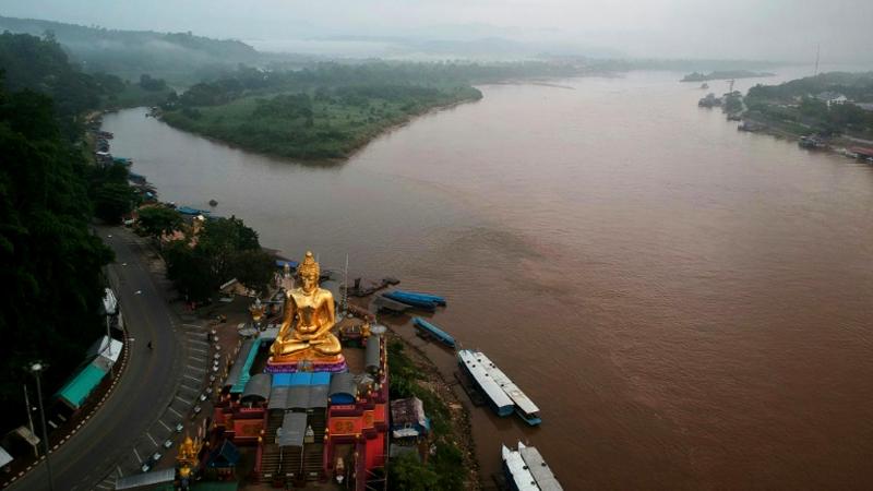 Thailand dreigt plannen voor dam in de Mekong rivier te torpederen