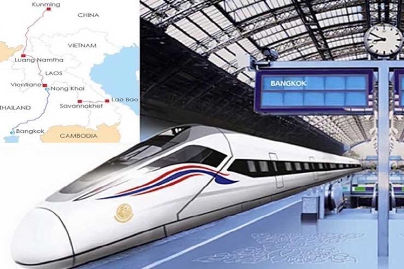 De Thaise en de Chinese overheid hebben een akkoord bereikt inzake de hogesnelheidslijn Bangkok naar Nong Khai