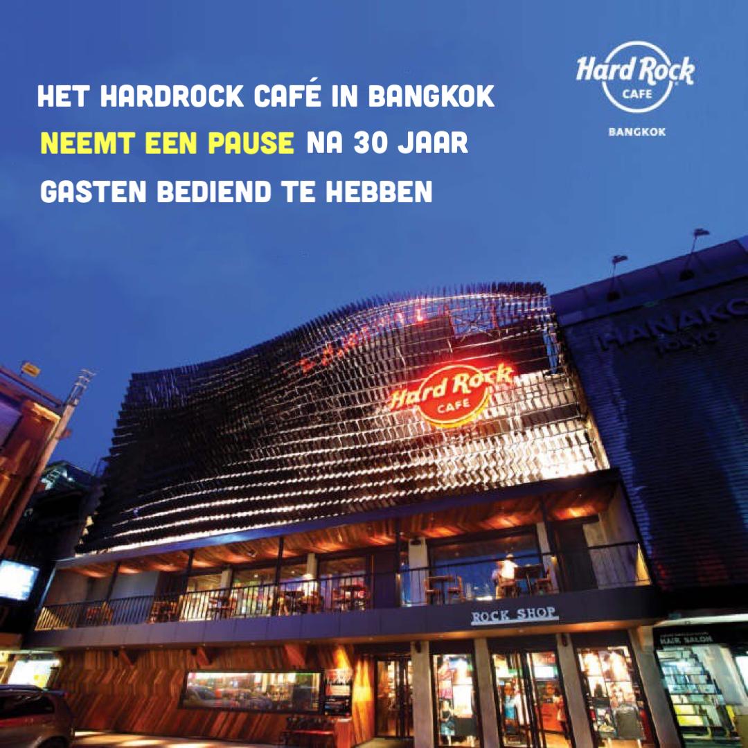 Het Hard Rock Cafe in Bangkok gaat tijdelijk dicht
