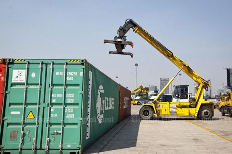 De Thaise export daalde in de maand februari met 2,59 procent