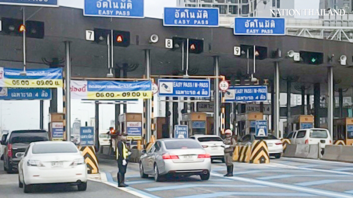 Tijdens de komende nieuwjaars vakantie wordt er op de Thaise snelwegen geen tol geheven