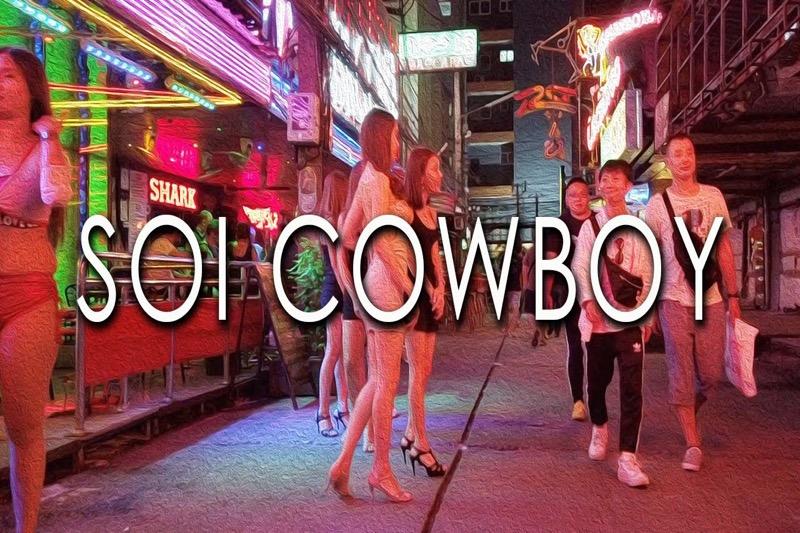 De bedrijven in Soi Cowboy hebben de Covid19 pandemie overleeft, maar de verkoop is met 70% gedaald