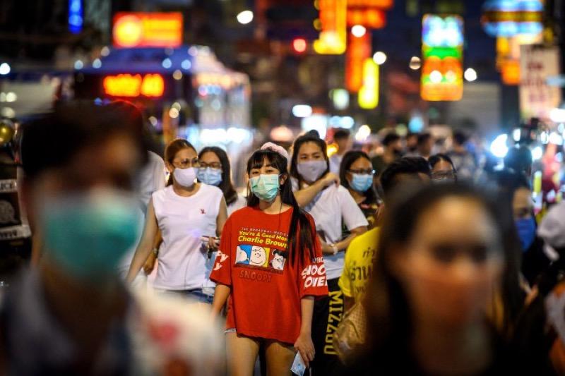 Thailand heeft nu 66.186.727 inwoners