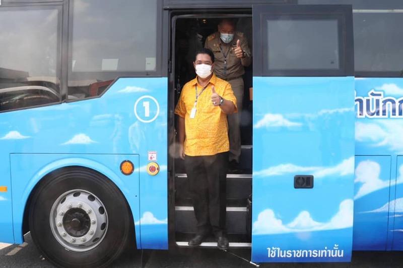 Nieuwe vloot schoolbussen in Pattaya aangekomen