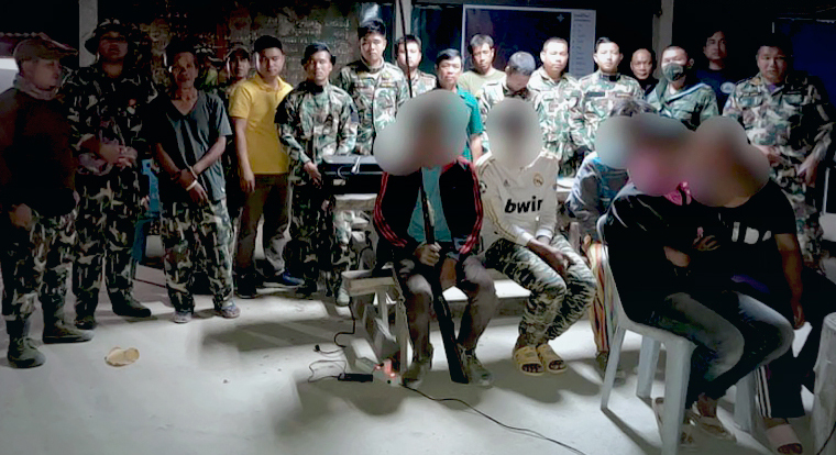 Stropers gearresteerd in Nationaal park Chiang Mai
