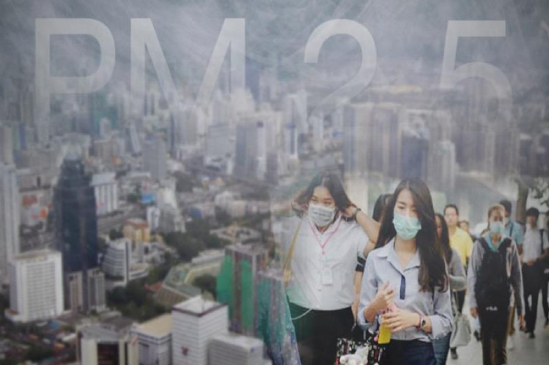 Om de hoogste luchtvervuiling ter wereld te ervaren moet u echt in Chiang Mai zijn!