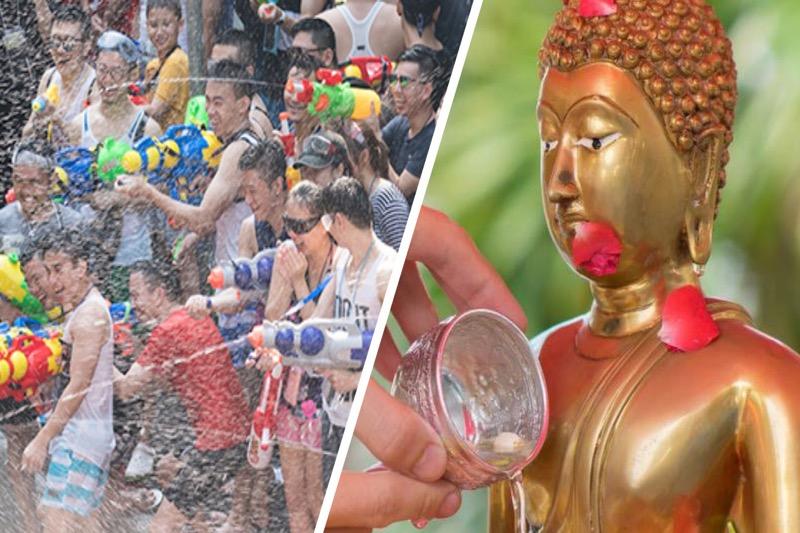 De regering van Thailand beslist maandag over de Songkran-regels