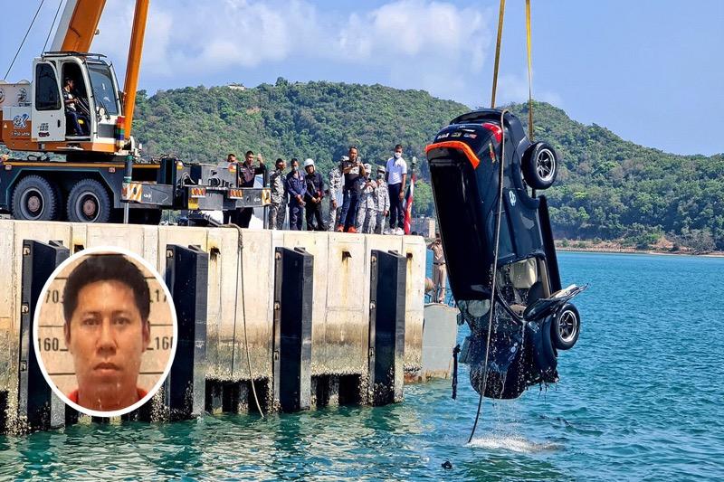 Marine officier rijdt met auto en al de zee in en komt te verdrinken