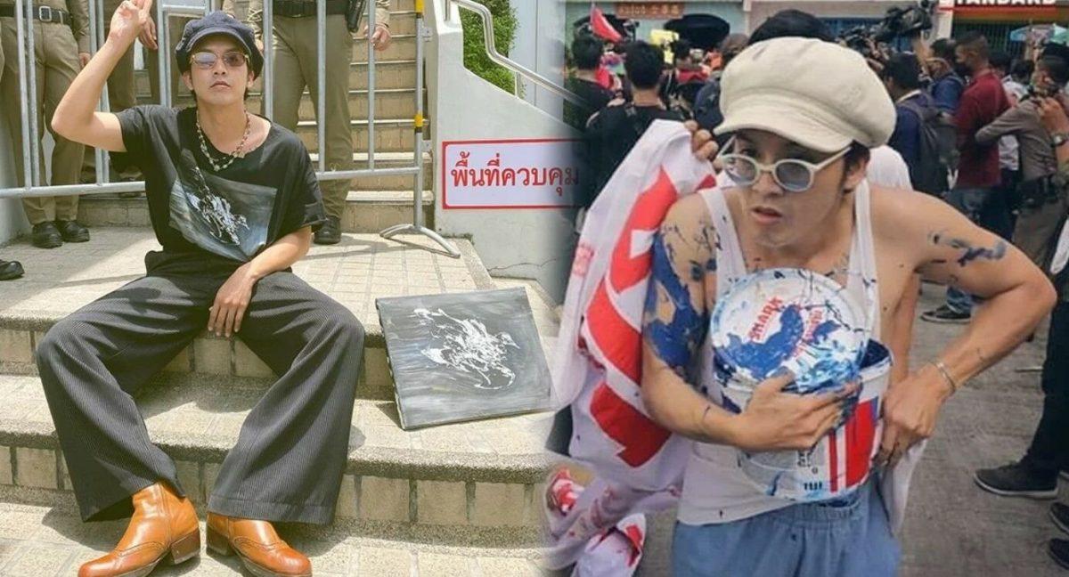 Thaise politie ontkent de arrestatie van 'Ammy' wegens koninklijke portretvuur