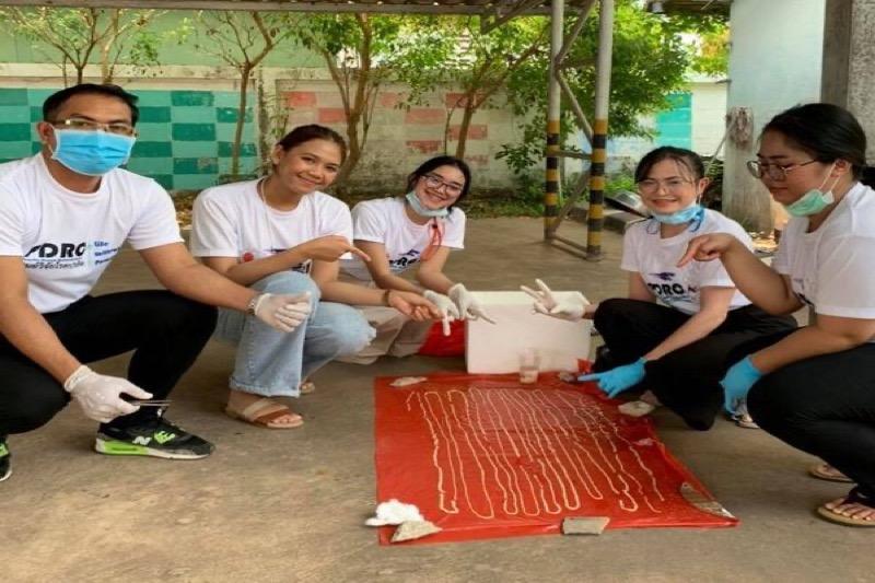 Een lintworm van 18 meter lang bij een patiënt in Nong Khai aangetroffen