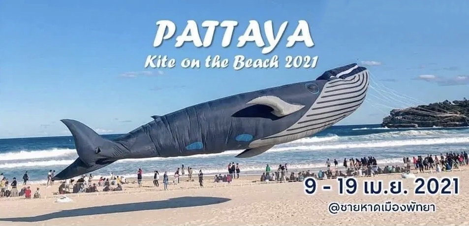 Pattaya gaat tijdens het Songkran het vliegerfestival 'Kite on the Beach 2021' organiseren om het binnenlands toerisme te stimuleren
