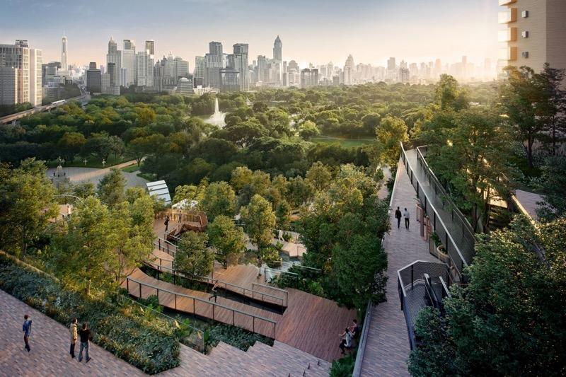 Fikse opwaardering in de investeringen voor het nieuwe Dusit Thani hotel in Bangkok