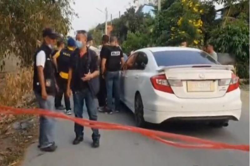 Man in Chonburi neergeschoten na de sommering te stoppen bij een wegversperring