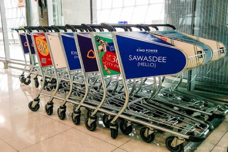 De transfervluchten op de Thaise luchthavens zijn weer toegestaan
