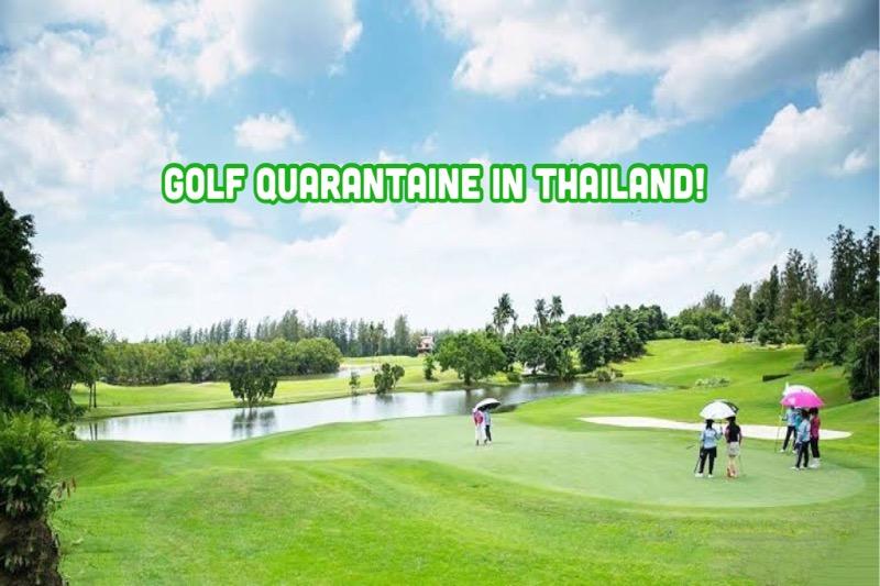 Golf quarantaine arrangementen in Thailand attractief!