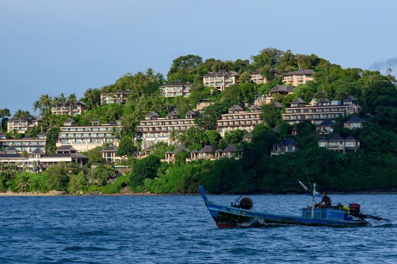 """De toeristenindustrie Phuket hoopt in oktober weer in het """"normale"""" doen te zijn."""