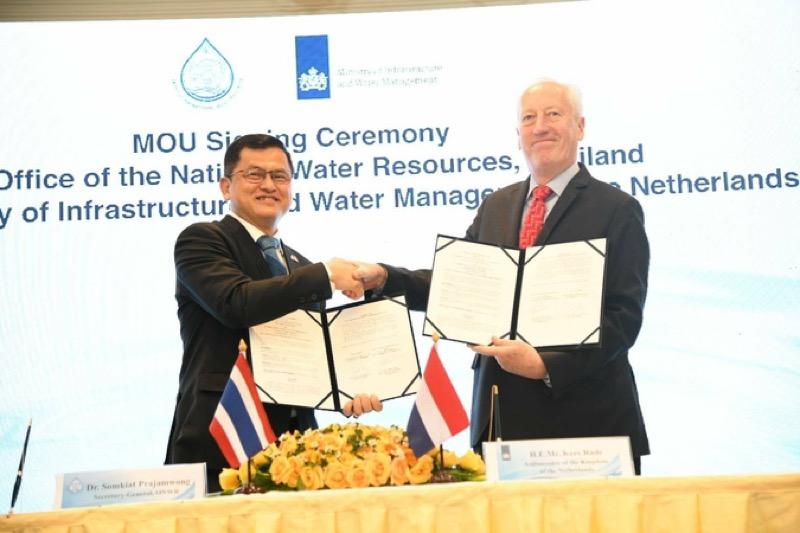 Thailand maakt gebruik van Nederlandse expertise om het overstromingsprobleem in Bangkok aan te pakken