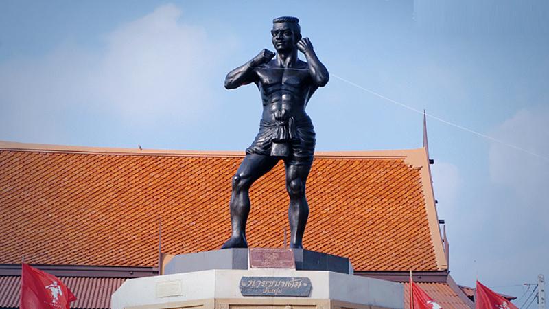 Ayutthaya herdenkt de iconische Muay Thai-meester Nai Khanomtom