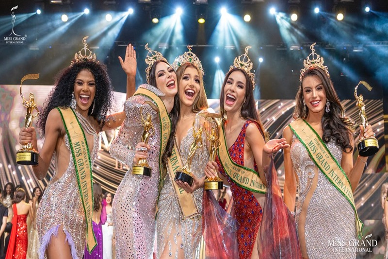 Twee Miss Grand International-deelnemers in Bangkok positief covid19 getest