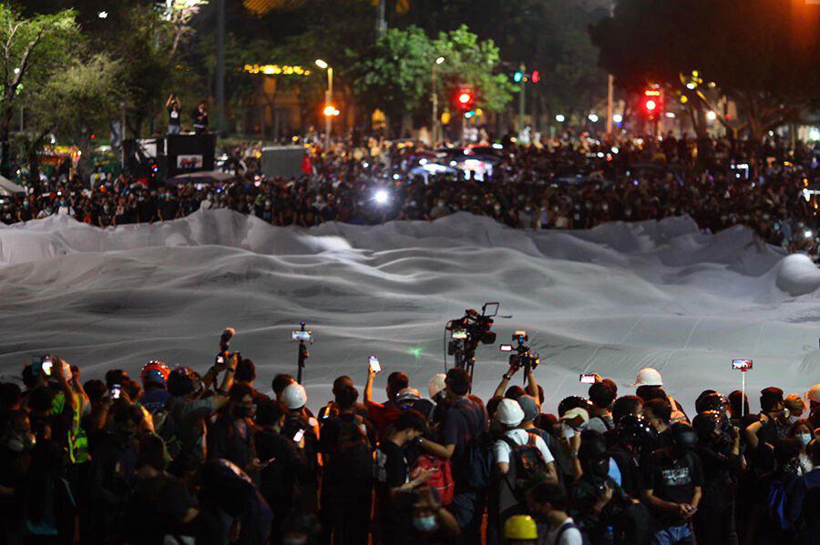 6 Thaise mediaorganisaties hebben een gezamenlijke verklaring uitgegeven: recht op vreedzame protesten